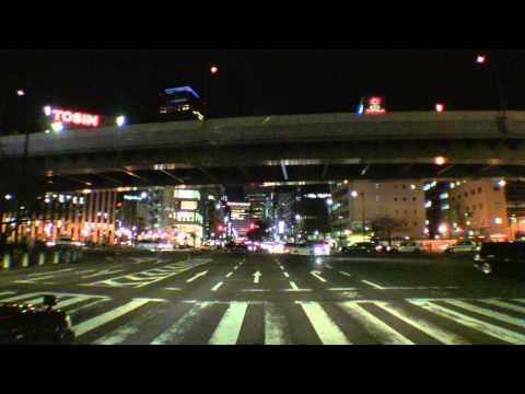 Nagoya City Night Driving
