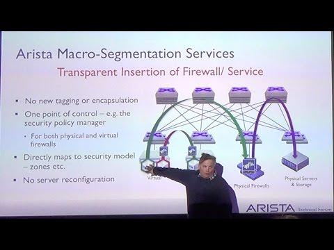 Arista Macro-Segmentation Services MSS - Peter Lundqvist