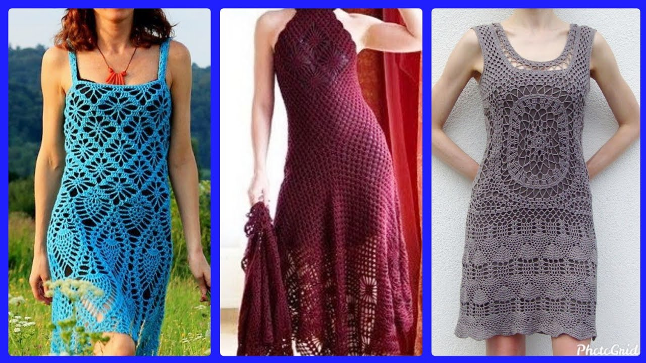 [VIDEO] – Beautiful crochet casual summer outfits designs for women