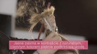 Fryzura Karoliny - długie włosy mocno wycieniowane | Poradnik NOWA JA!
