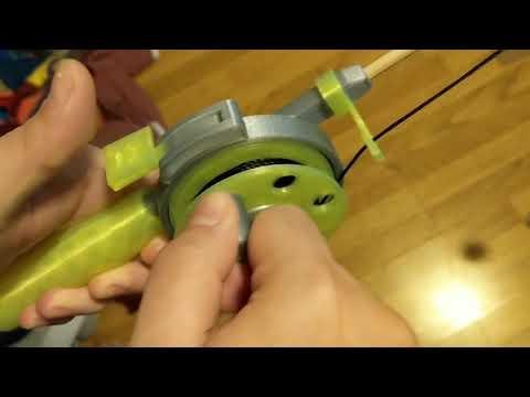 Cat Fishing Rod Toy Mechanism