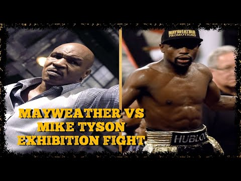 FLOYD MAYWEATHER JR VS MIKE TYSON EXHIBITION FIGHT