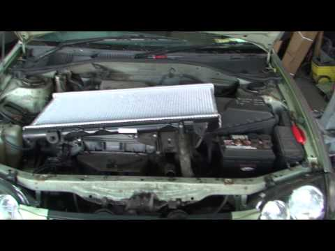 bodgit and leggit garage how to put a new radiator in a 1997 toyota avensis