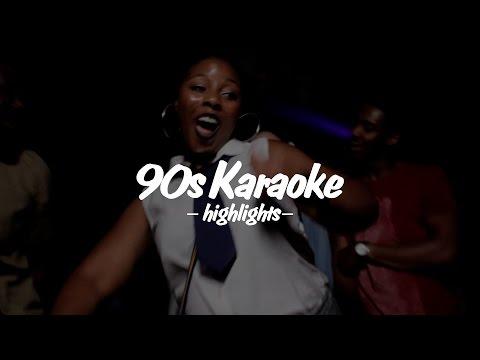 90s KARAOKE HIGHLIGHTS: September 2016 pt.02