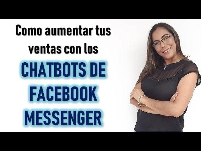 Como Vender En Facebook 📈-  Chatbots  De Facebook Messenger ✍