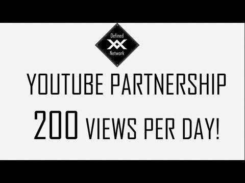 Defined Network Partnership Program   200 Views Per Day !
