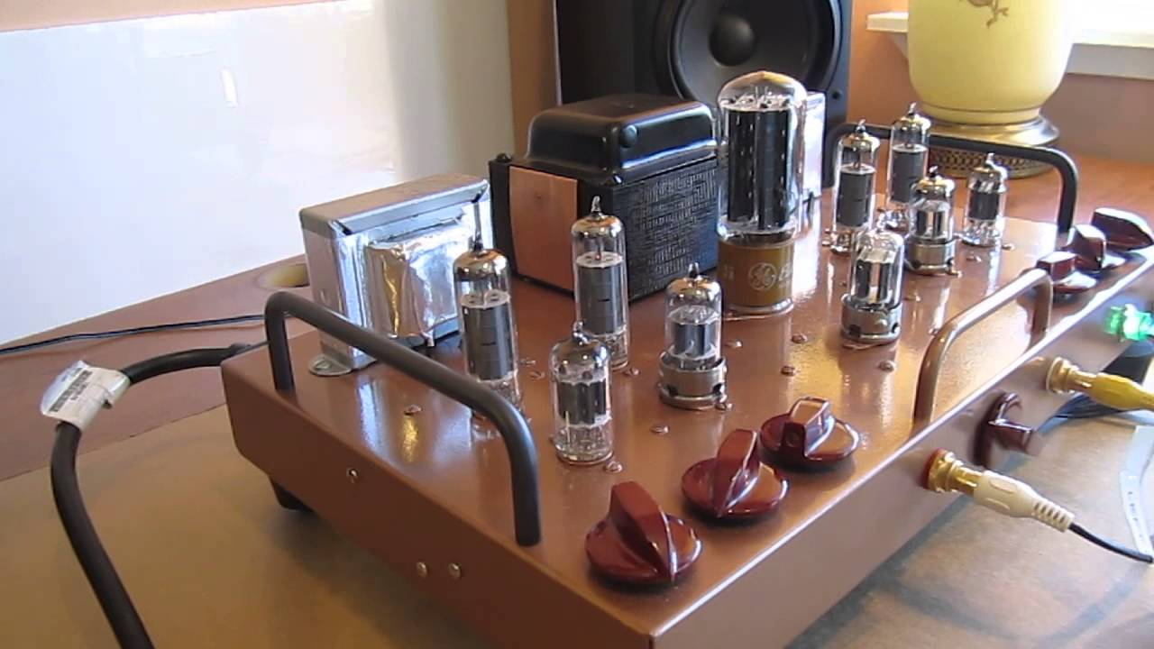 Tube Amplifier Pilot SA 232 and Pilot Pre-Amp SP-210 hand ...