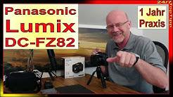 Panasonic Lumix DC-FZ82 DC-FZ83 - 1 Jahr Praxistest - 4K Foto 4K Video - 60fach Zoom - Zubehör Tipp