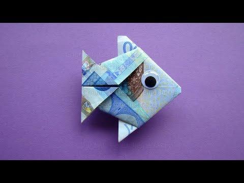 Geldscheine Falten Fisch Geld Falten Zur Hochzeit