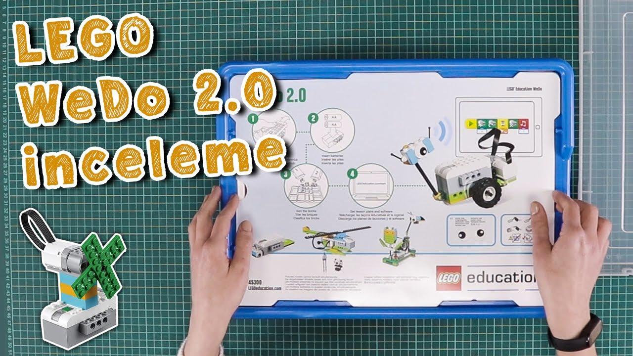 Efsane Lego ile Robot Yapmaya Hazır mısın? WeDo 2.0 Setini inceledik!