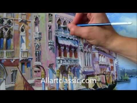 Painting a Venetian Lanscape - Do  It Yourself