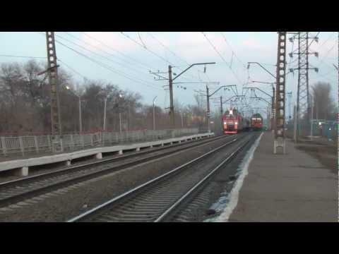 ЭП1М-700 с поездом Иркутск — Кисловодск