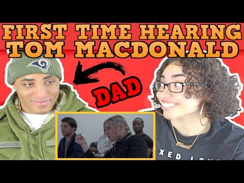 MY DAD REACTS TO TOM MACDONALD | WHITEBOY REACTION | TOM MAC