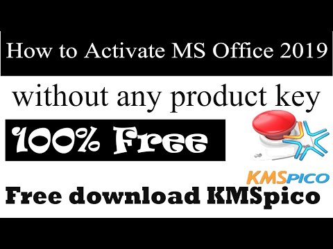 How to Activate Microsoft Office Professional Plus 2019 without Registration Key