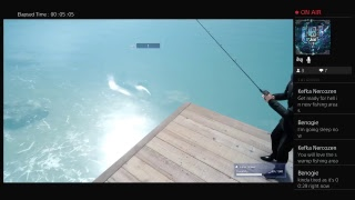 The Fishing Stream|Final Fantasy XV