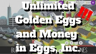 Egg, Inc.   UNLIMITED MONEY AND GOLDEN EGGS GLITCH   Cheats And Glitches