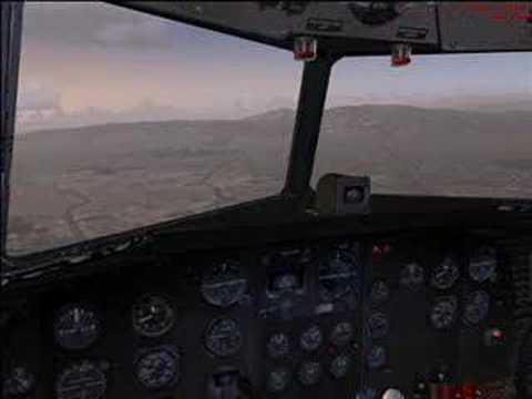 DC-3 Flight to Bakersfield