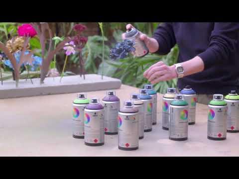 ספריי צבע MTN על בסיס מים 300   הפרחים של בורניי
