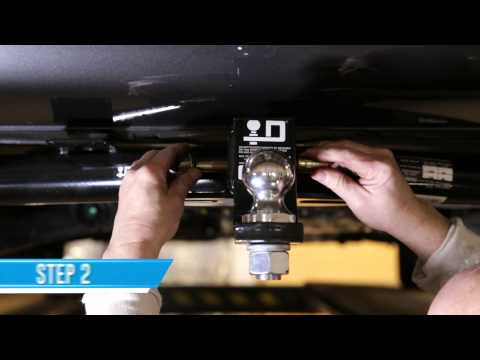 Receivers Tow Ready 63201 J-Pin Anti-Rattle Pin /& Barrel Lockset For 2 Sq
