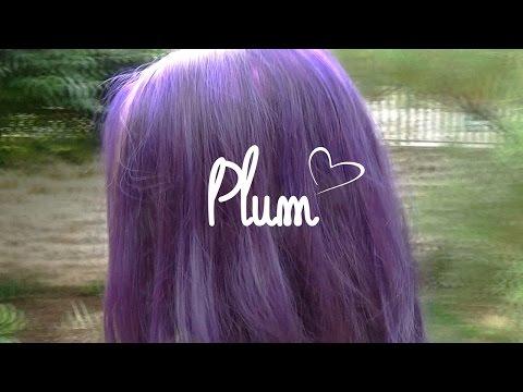 colo violet plum de la rich directions youtube - Coloration Permanente Violet