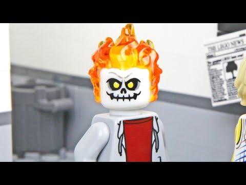 Lego School - The Ghost 4 - Prank Fail