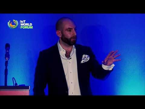 Rami Avidan TELE2 - Keynote at IoT World Forum 2016 in London