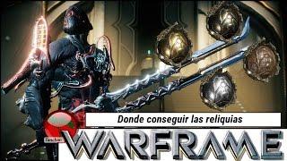 Warframe. Donde conseguir las reliquias (y lucha Nekros vs Sombra de Stalker). Gameplay en español