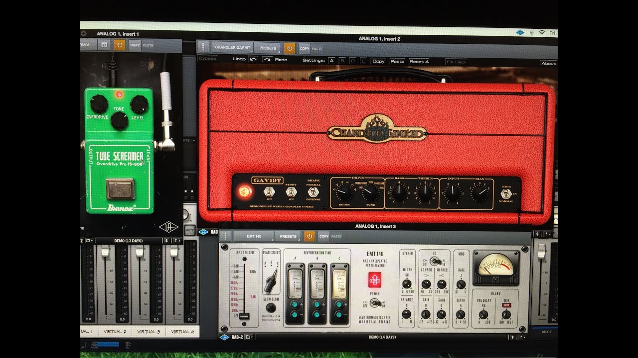 chandler limited gav19t amplifier plug-in
