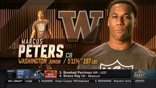 2015 NFL Draft Rd 1 Pk 18 | Kansas City Chiefs Select CB Marcus Peters