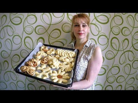 Как сделать слоеные булочки