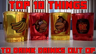 Top 10 Things To Drink Drinks Out Of