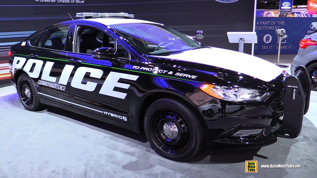 2017 ford fusion police responder hybird car exterior and interior walkaround 2017 ny auto. Black Bedroom Furniture Sets. Home Design Ideas