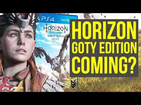 Horizon Zero Dawn Wins Big Game Of The Year Edition