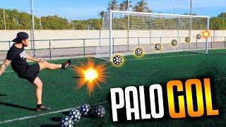 PALO GOL CHALLENGE CON DEDITO BABOSO - Retos de Fútbol, Goles y Jugadas