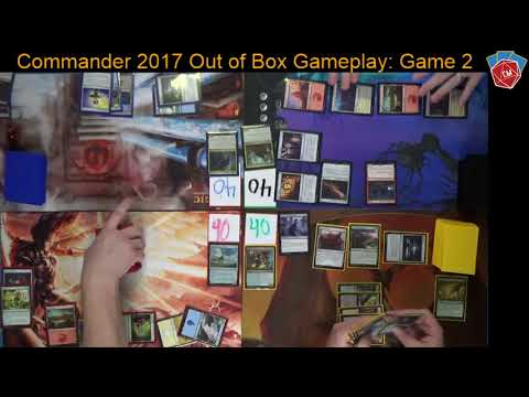 Commander 2017 Out of the Box Gameplay: Game 2: Licia, Nazhan, Ramos, and Mairsil!