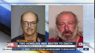 Police looking for person who killed homeless men