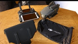 DJI Mavic Pro Accessories: Aircraft Sleeve and RC Hood