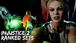Injustice 2: Harley Quinn Ranked Sets #2