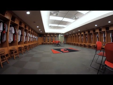 The University of Cincinnati Athletic Facility Video: Baseball Locker Room