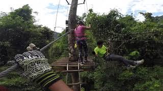Krabi Tree Top Adventure Park - Black course