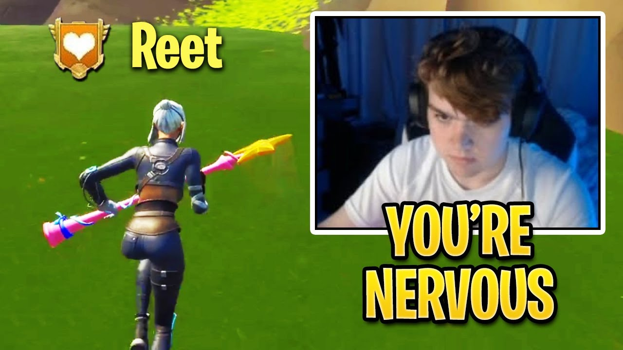 Mongraal vs REET Wager For The First Time in Fortnite History!