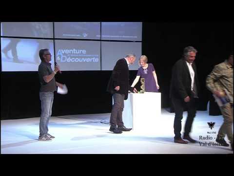 Cérémonie de clôture du 19e festival international du film Aventure et Découverte de Val d'Isère