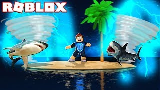 SURVIVE THE ISLAND OF DISASTERS IN ROBLOX!!