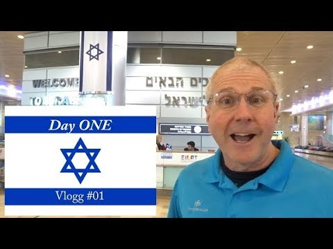 Israel Travel Vlogg #01 - Experience Israel NOW With Andy Cook
