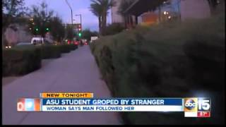 Teen groped by stranger on ASU campus