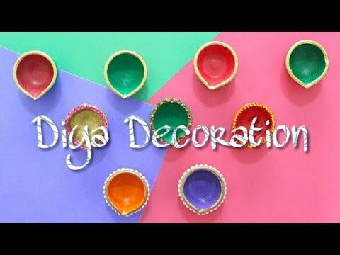 diy diwali special 3 easy diya decoration style bharti s
