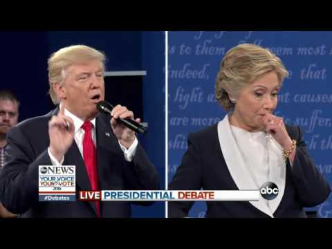 2nd PRESIDENTIAL DEBATE: Donald Trump, Hillary Clinton Discuss Clean Energy Plans, Coal Workers