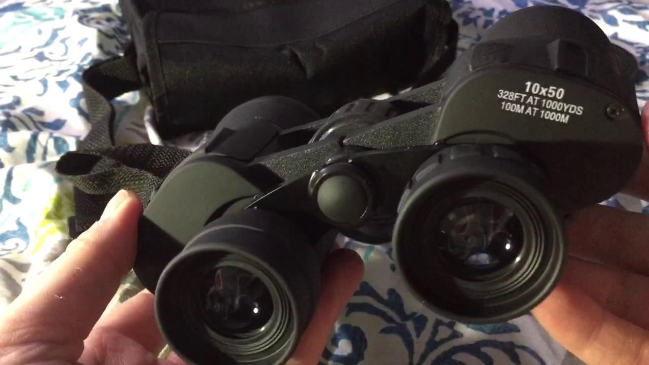 10x50 Wide Angle Binoculars Review  Youtube