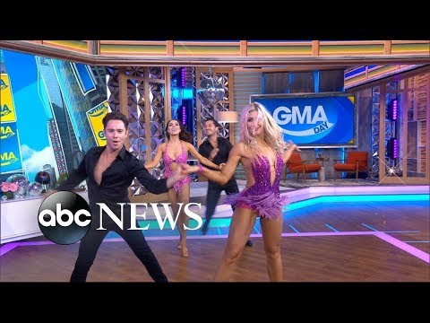 'Dancing With the Stars' pros put on an unbelievable Times Square show