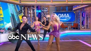 Baixar 'Dancing With the Stars' pros put on an unbelievable Times Square show